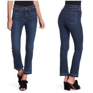 NWT Veronica Beard Carolyn Baby Boot Crop Jeans